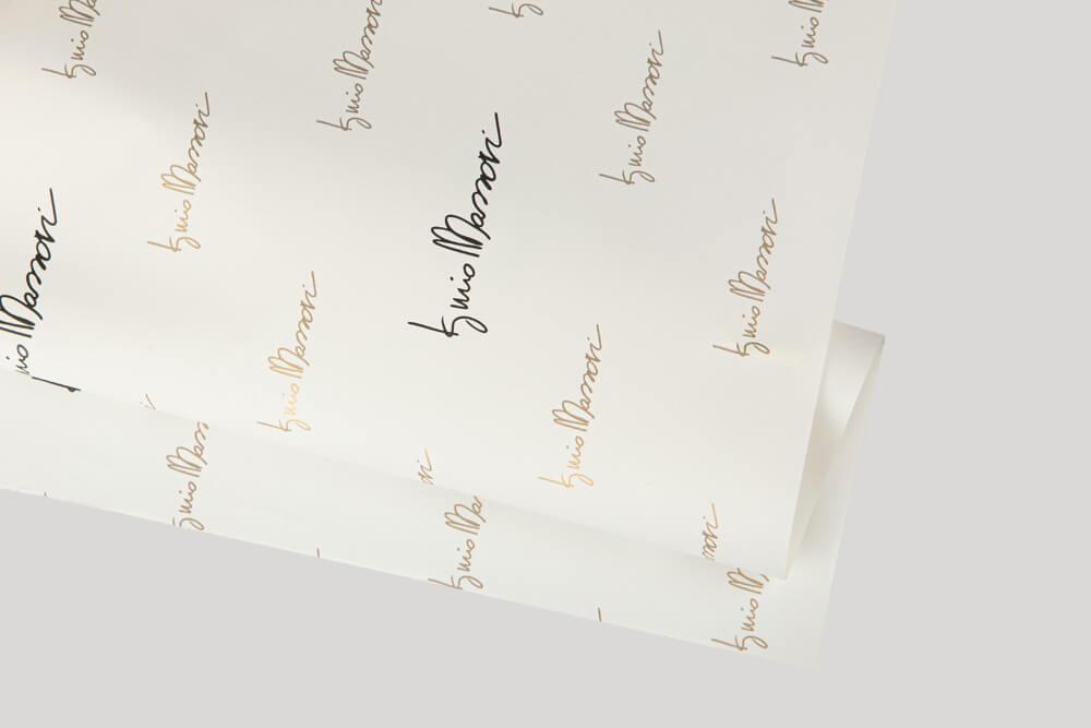 Carta da involgere personalizzata con logo - Carta Pellaglio
