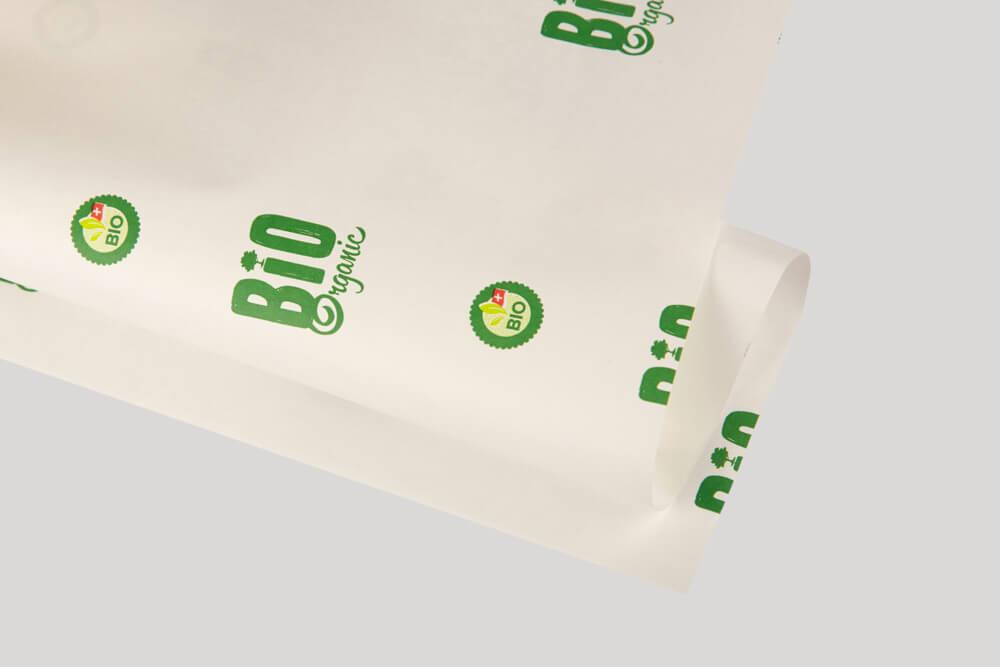 Carta da involgere personalizzata con logo -Carta Kraft