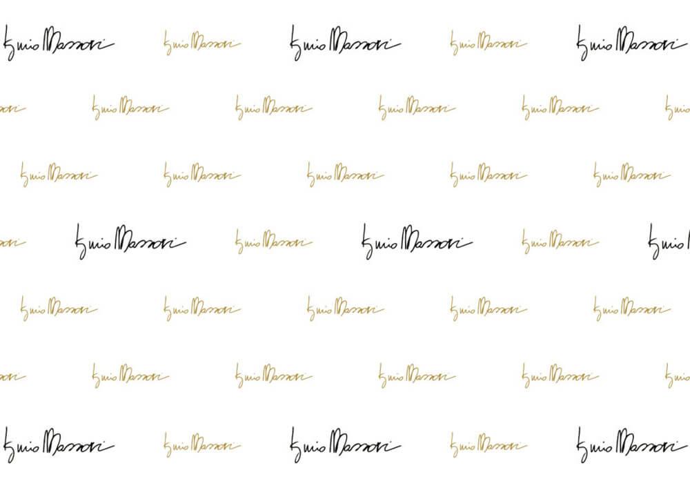 Carta velina per dolci - Carta velina pelleaglio decorata personalizzata Iginio Massari