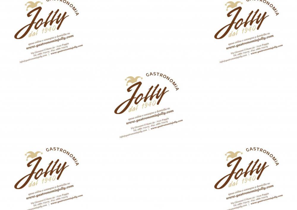 Carta per alimenti - Carta velina alimentare colorata personalizzata Jolly Gastronomia