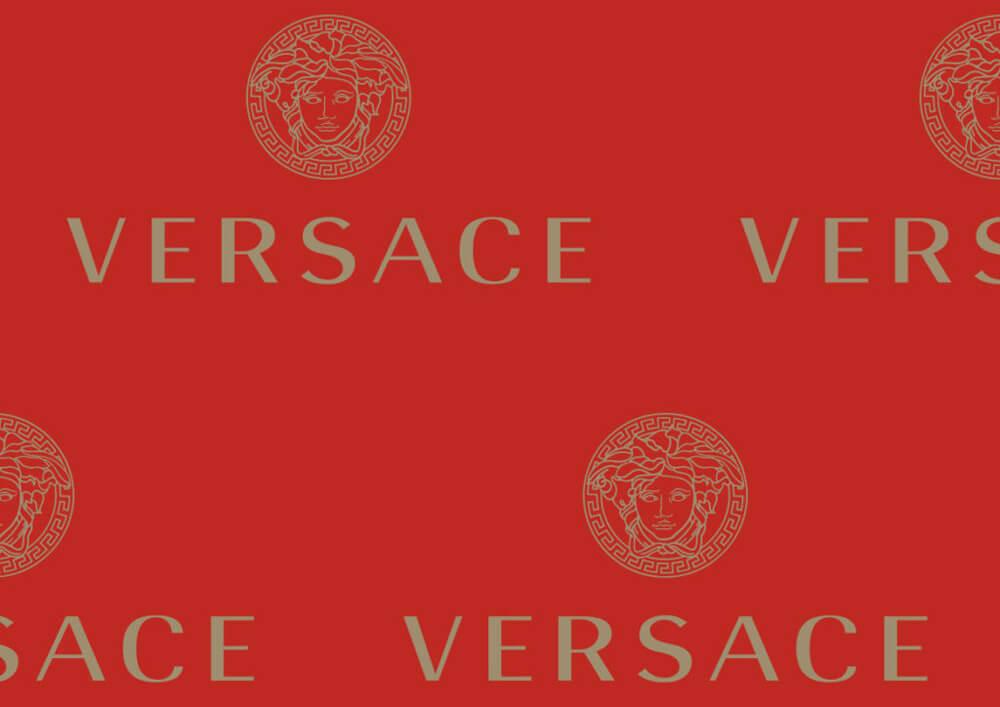 Carta velina per abbigliamento per confezionare abiti personalizzata Versace