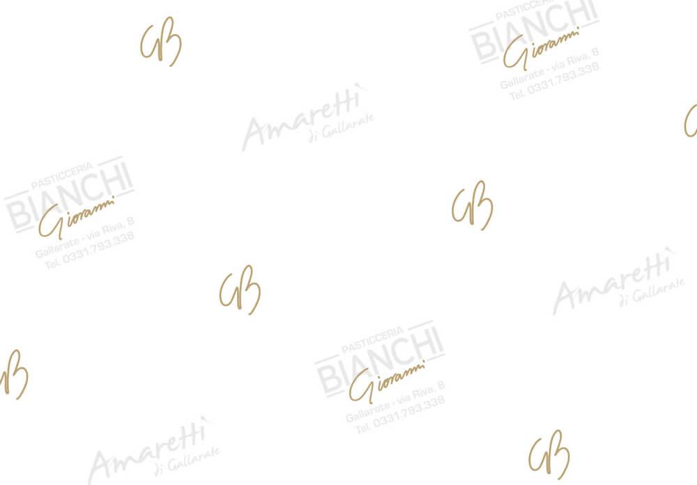 carta paraffinata per alimenti - Carta paraffinata personalizzata con logo BIANCHI