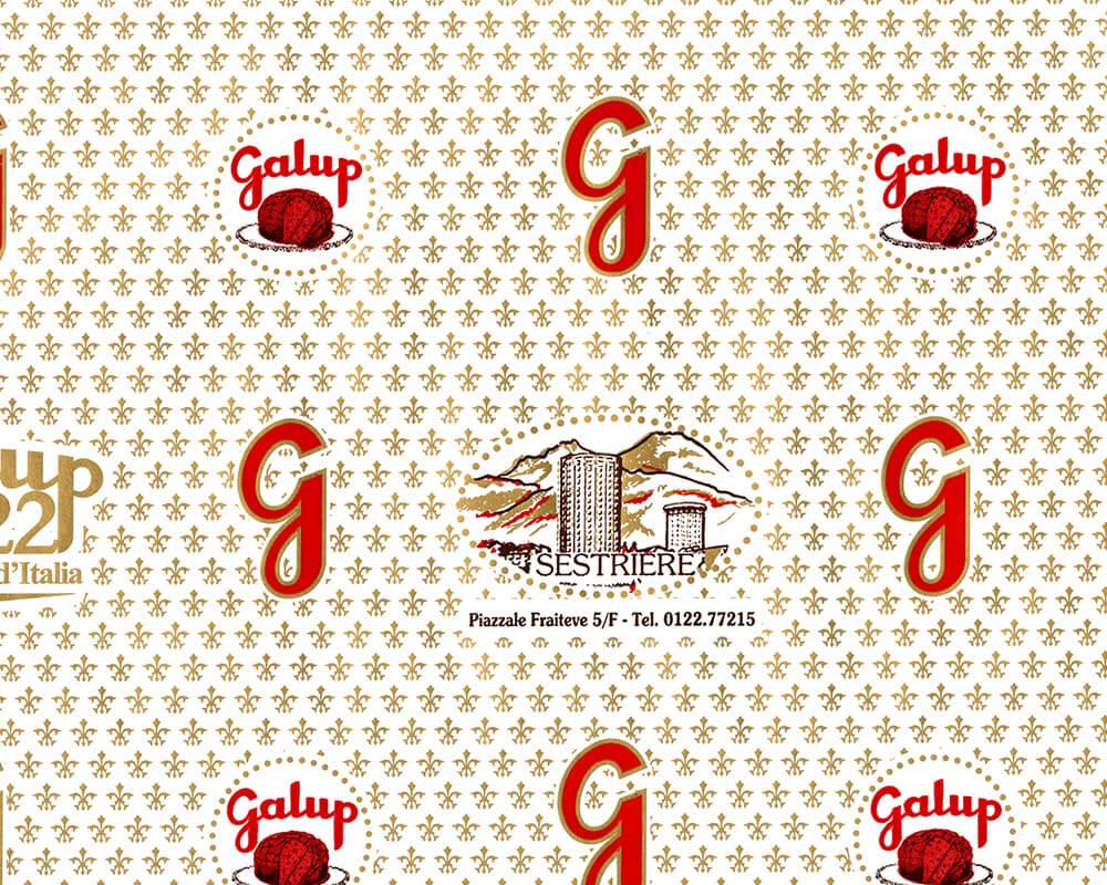 carta pelleaglio - carta pelleaglio personalizzata con logo GALUP