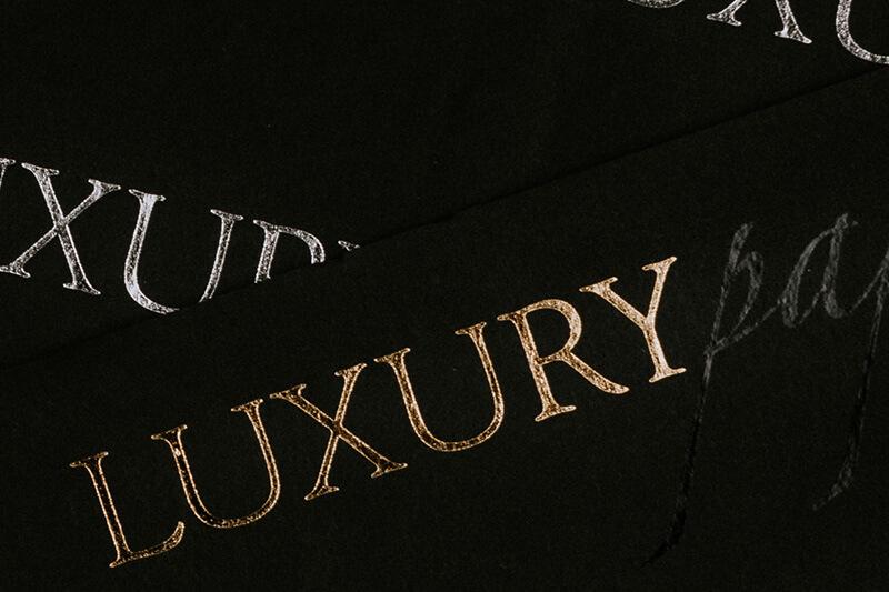 Carta velina personalizzata per imballaggio - Luxury - 02