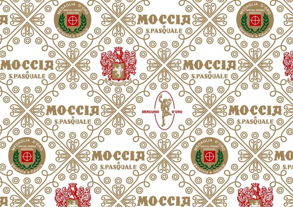 Carta velina per dolci - Carta velina pelleaglio decorata personalizzata Moccia