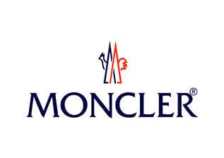 Papier de soie emballage personnalisé avec logo imprimé - Moncler