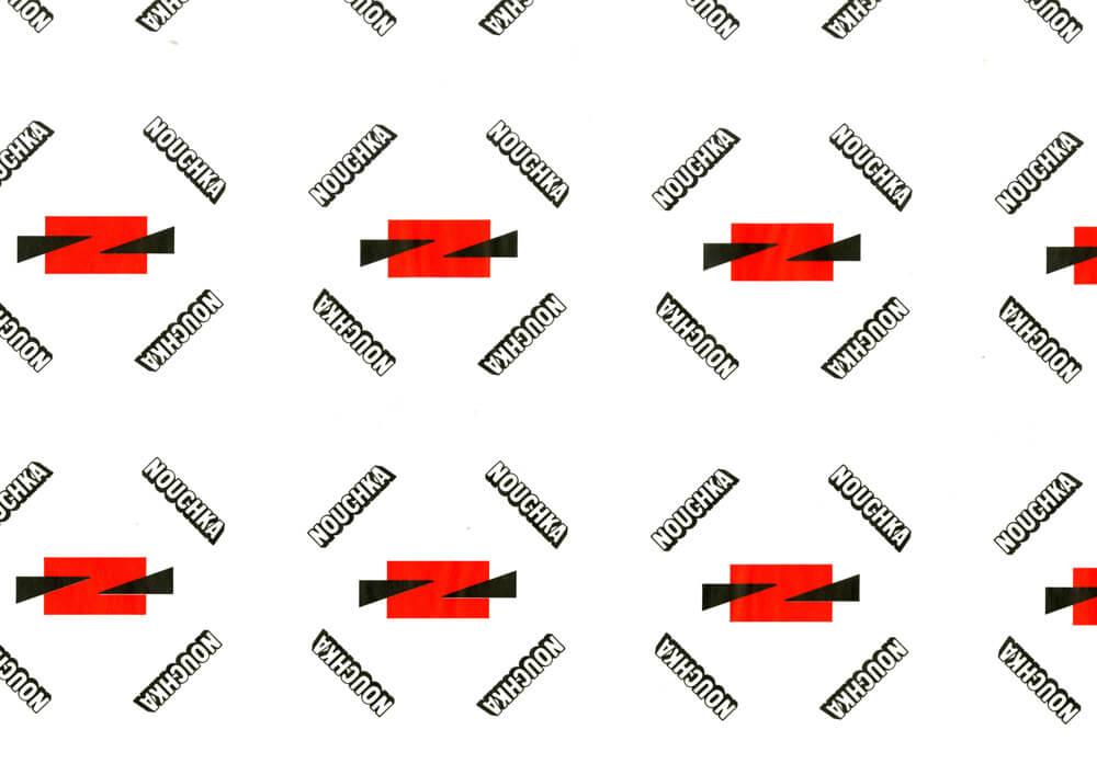 Carta velina personalizzata - Carta velina con logo personalizzata NOUCHKA