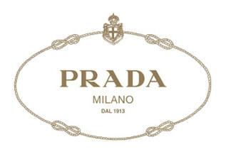Carta da imballaggio personalizzata con logo Prada