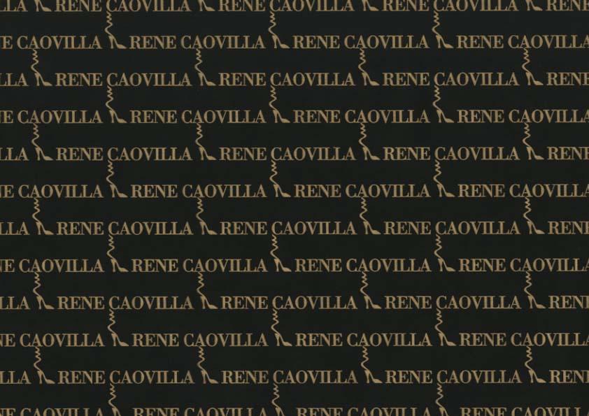 Carta velina per calzature, scarpe personalizzata Rene Caovilla